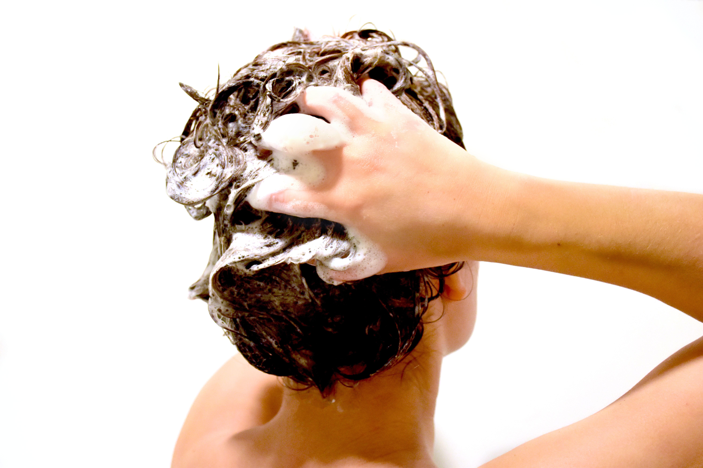 fedtet hår efter vask